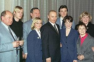 Valentin Piseev - Image: Vladimir Putin 5 March 2002 5