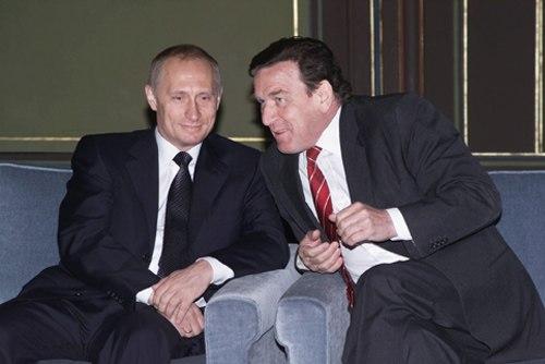 Vladimir Putin in Germany 9-10 April 2002-11