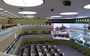 The National Defense Management Center - The National Defense Management Center in Moscow ( Main hall )