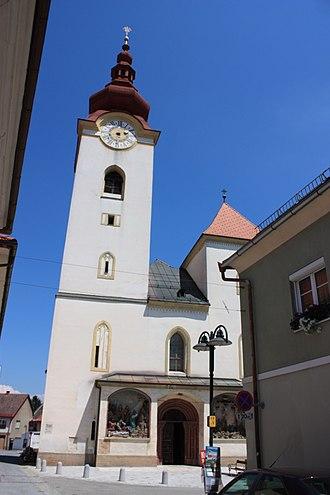Völkermarkt - Mary Magdalene parish church