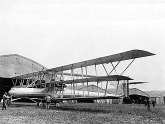 Voisin Triplane - 1916 version of the Voisin Triplane