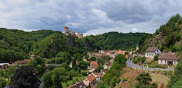 Vranov nad Dyjí (Frain), Moravia