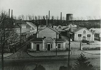 Kulturfabrik Esch-sur-Alzette (Luxembourg) - The old slaughterhouse of Esch-sur-Alzette.