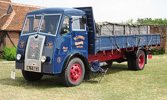 Vulcan (motor vehicles) - Vulcan lorry, built 1949