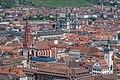 Würzburg, Marienkapelle, Augustinerkirche, Stift Haug, Ansicht von der Festung Marienberg 20170624 001.jpg