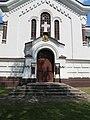 Włodawa, cerkiew Narodzenia Marii, fragment elewacji pd..JPG