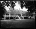 WEST FACADE FROM NORTHWEST - Magnolia Mound, 2161 Nicholson Drive, Baton Rouge, East Baton Rouge Parish, LA HABS LA,17-BATRO,14-2.tif