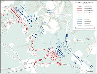 Battle of the Wilderness - Actions in the Wilderness, May 6, 1864