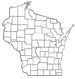 Location of Freedom, Wisconsin