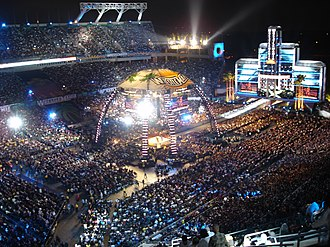 WrestleMania XXIV - An attendance record setting 74,635 fans at the Citrus Bowl for WrestleMania XXIV