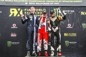 2015 World RX of Italy - Event podium