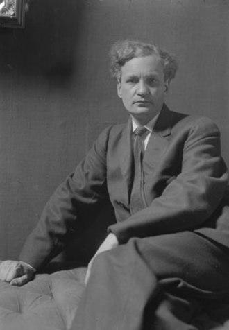 Walter Seymour Allward - Walter Allward in 1913