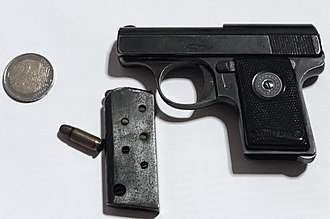 .25 ACP - Image: Walther's Patent Mod 9 103