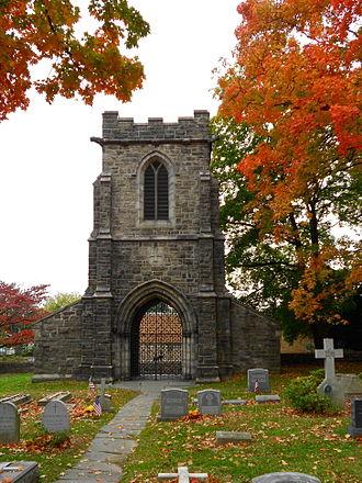 Rodman Wanamaker - Wanamaker Tomb and Bell Tower, Church of St. James the Less, Philadelphia, Pennsylvania.