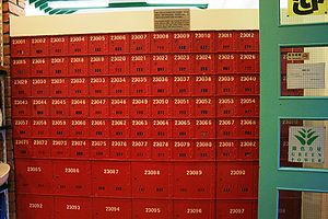 Old Wan Chai Post Office - Mailboxes.