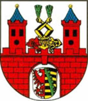 Bernburg - Image: Wappen Bernburg (Saale)