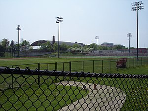War Memorial Stadium (Buffalo) - Baseball diamond and football field