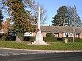 War Memorial at Bentley Suffolk - geograph.org.uk - 80326.jpg