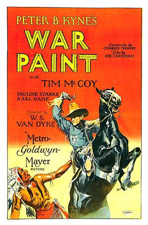 War Paint (1926 film) - Image: War Paint