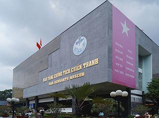 War Remnants Museum War museum in Ho Chi Minh City, Vietnam