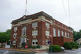Warren Memorial Town Hall - Stafford Springs, Connecticut - DSC04225.jpg