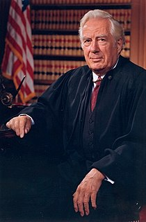 Warren E. Burger 15th chief justice of the United States
