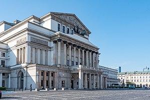 Grand Theatre, Warsaw - Image: Warszawa, ul. Senatorska 21, 25 20170516 001