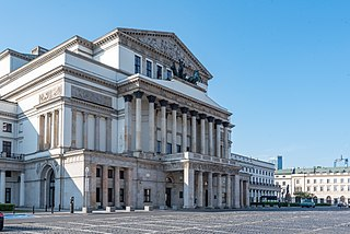 Grand Theatre, Warsaw opera house in Warsaw, Poland