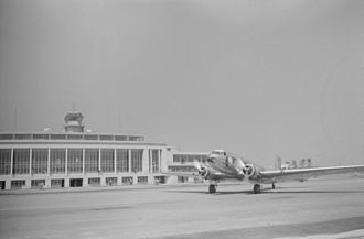 Ronald Reagan Washington National Airport - Terminal building from the tarmac in July, 1941