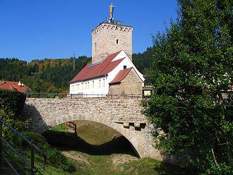 Odenbach (Glan) - Image: Wasserburg reipoltskirchen