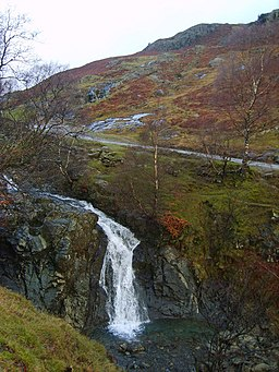 Waterfall, Church Beck - geograph.org.uk - 1080175
