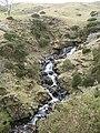 Waterfalls above Hause Bridge - geograph.org.uk - 988719.jpg