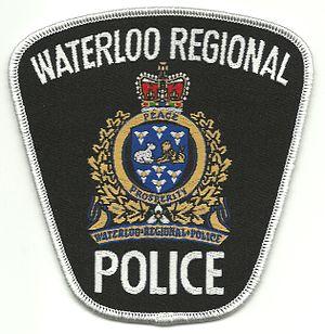 Waterloo Regional Police Service - Image: Waterloo Regional Police Shoulder Flash