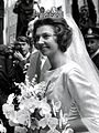 Wedding day of Princess Désirée of Sweden 5 June 1964.jpg