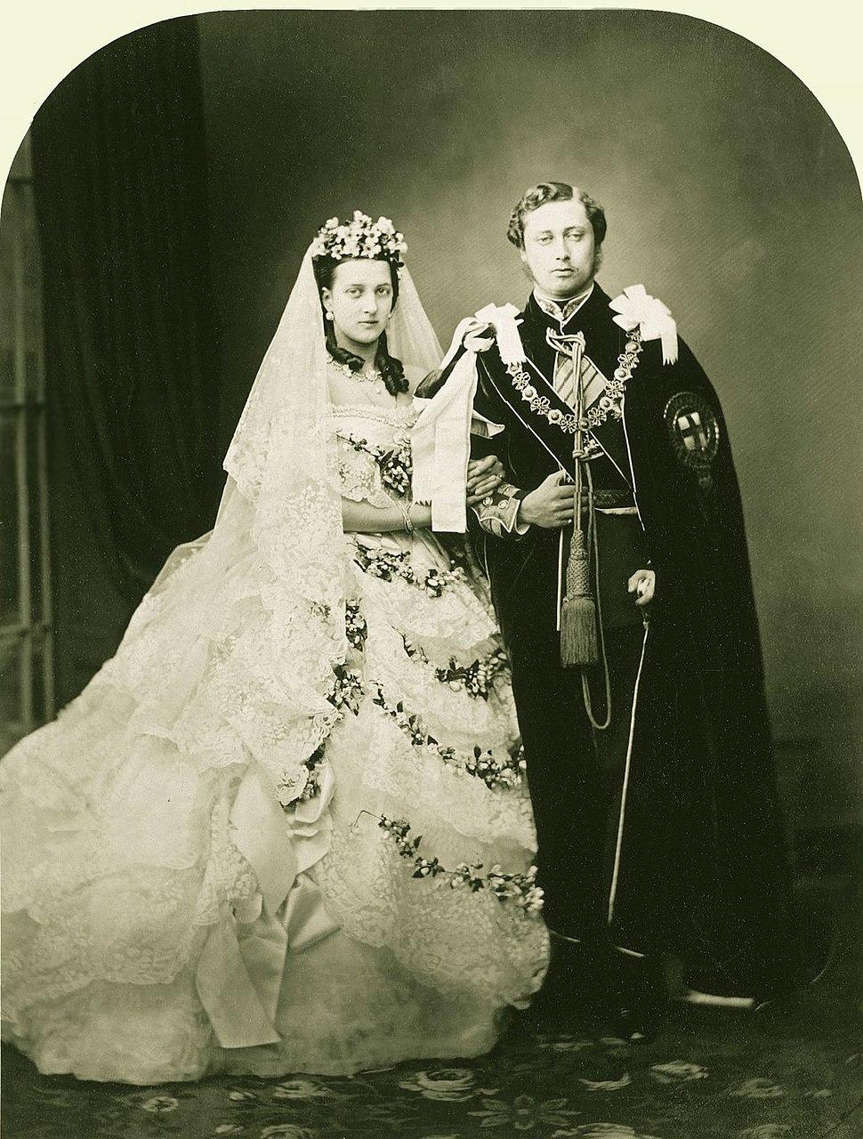 Wedding of Albert Edward Prince of Wales and Alexandra of Denmark 1863