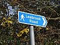 Wednesbury Parkway Tram Stop - sign - Leabrook Road (26765747219).jpg