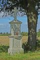 """Wegekreuz """"Im großen Feld"""" ; südlich von Thorr, Denkmal-Nr. 229, Bergheim.jpg"""
