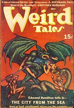 Weird Tales cover image for May 1940
