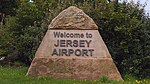 Welcom to Jersey Airport Flughafen Jersey Channel Islands Great Britain Großbritannien Foto Wolfgang Pehlemann DSC04970.jpg