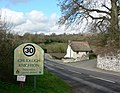 Welcome to Chudleigh Knighton - geograph.org.uk - 746475.jpg