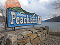 Welcome to Peachland Sign.JPG