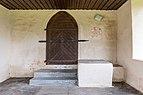 Wernberg Ragain Filialkirche hl. Bartlmä Vorhalle Portalwand 30052018 3483.jpg