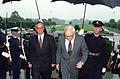 Werner Fasslabend mit Les Aspin, 1993.JPEG