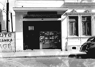 Vista pontual do Estúdio Fotolabor. São Paulo/SP