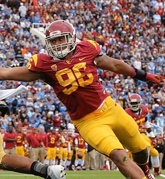 Wes Horton - Horton playing at USC in 2012.