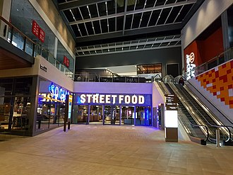 Westgate, Oxford - Westgate Social renamed to Social Street Food in July 2018 to increase visibility after a business in the Westgate Social closed down 7 months since the centre open in October 2017.