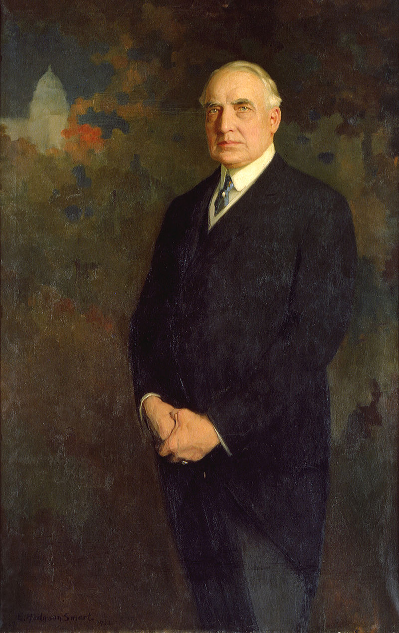 President warren g harding 1921 1923 official white house portrait