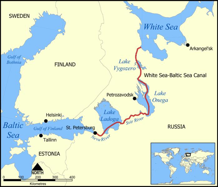 White Sea–Baltic Canal