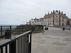 Whitley Bay - Rex Hotel and Promenade View - geograph.org.uk - 810930.jpg