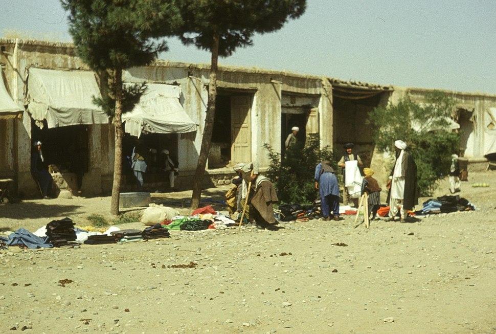 Widok bazaru - Qajsār - 001617s
